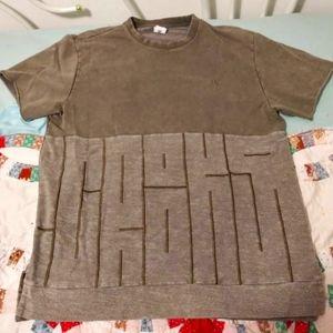 Crooks & Castles Green S/S Crewneck Shirt sz: 2XL